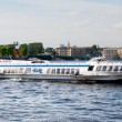 River bus, St. Petersburg — Stock Photo