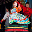 Russian folk woman dancer — Stock Photo #44854775