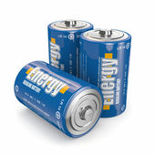 Energy batteries — Stock Photo
