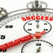 Success and development concept. Stopwatch. — Foto Stock