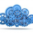 Gears. Cloud computing. — Stock Photo #29966251