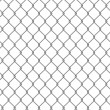 Tiling texture of barbed wire fence. — Foto Stock