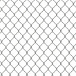 Tiling texture of barbed wire fence. — ストック写真