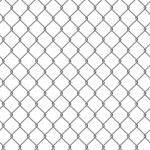 Dachówka tekstury ogrodzenia z drutu kolczastego — Zdjęcie stockowe