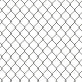 Tiling texture of barbed wire fence. — Foto de Stock