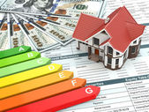 House energy efficiency concept. — Stock Photo