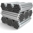 Metal pipes. Steel industry — Stock Photo #47670801