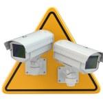 CCTV Camera. Video surveillance sign — Stock Photo #47670829