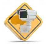 CCTV Camera. Video surveillance sign. — Stock Photo #48002065