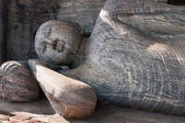 Lying reclining Buddha — Stock Photo