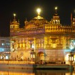 Golden Temple in Amritsar, India - Stock Photo