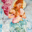 Buddhism angel  - deva — Stock Photo