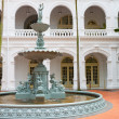 Stock Photo: Fountain in classical colonial style, Singapore