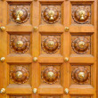 Temple door bells in india Hindu temple - Stock Photo