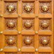 Temple door bells in india Hindu temple — Stock Photo