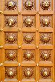 Temple door bells in india Hindu temple — Stockfoto