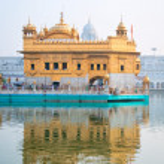 Golden temple, Amritsar, India — Stock Photo #14096321