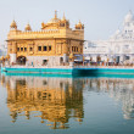 Golden temple, Amritsar, India — Stock Photo #14096436