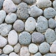 Peddle stone wall — Stock Photo