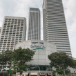 Raffles City complex, Singapore — Stock Photo