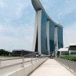 Stock Photo: Marina Bay Sands Singapore