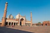 Jama Masjid Mosque, Old Dehli, India — Stock Photo