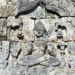 Buddha image in Candi Sewu Buddhist complex, Java, Indonesia — Stock Photo