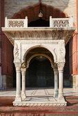 Entrance in Jama Masjid Mosque, Dehli, India — Stockfoto