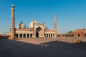 Jama Masjid Mosque, Old Dehli, India — Stock Photo