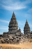 Świątyni Prambanan, Jawa, Indonezja — Zdjęcie stockowe