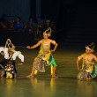 Ramayana Ballet at at Prambanan, Indonesia — Stock Photo