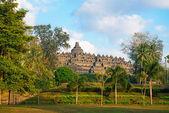 Borobudur Temple. Jogjakarta, Java, Indonesia. — Stock Photo