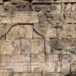 Relief at Borobudur temple on Java, Indonesia — Stock Photo