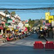Patong ordinary street, Phuket, Thailand — Stock Photo