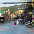 Stock Photo: Patong Banglroad at day, Phuket, Thailand
