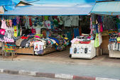 Patong zwykłych wspólne ulicy sklep, Tajlandia — Zdjęcie stockowe