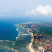 Aerial view on Bali — Stock Photo