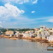 Holy sacred place for Hindus town Pushkar, India — Stock Photo