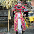 Traditional classical Barong theatre show on Bali — Stock Photo
