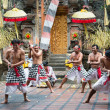 Traditional ritual Kris dance show on Bali — Stock Photo #23563817