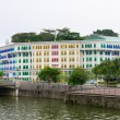MICA building is colonial landmark in Singapore - Stock Photo