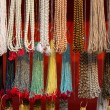 Beads at the open market — Stock Photo