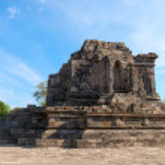 Candi Lumbung buddhist temple — Stock Photo #25176343