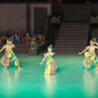 Stock Photo: RamayanBallet at at Prambanan, Indonesia
