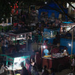 Stock Photo: Night asifood market, Gili isladn, Indonesia
