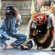 Barong and Kris Dance perform, Bali, Indonesia — Foto de Stock