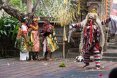 Barong and Kris Dance perform, Bali, Indonesia — Stock Photo