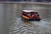 Sightseeingtur på singapore river — Stockfoto