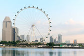 Ferris wheel - Singapore Flyer — Stock Photo