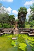 Ancient royal bathing pool — Stock Photo